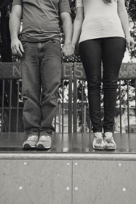 Gina & Bryan's Scranton Engagment Photos