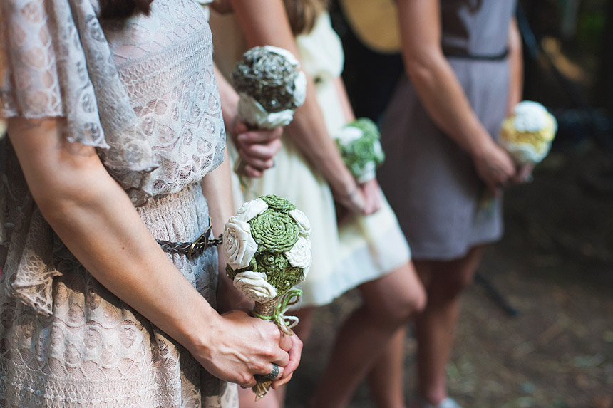 Danielle & Devon's Homemade Wedding Photo