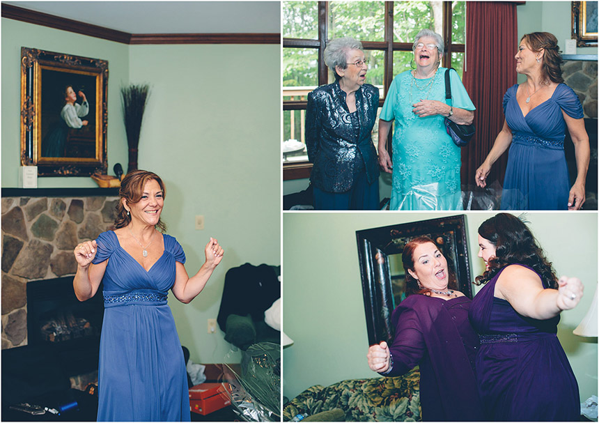 Nicole & Adam's Stroudsmoor Wedding