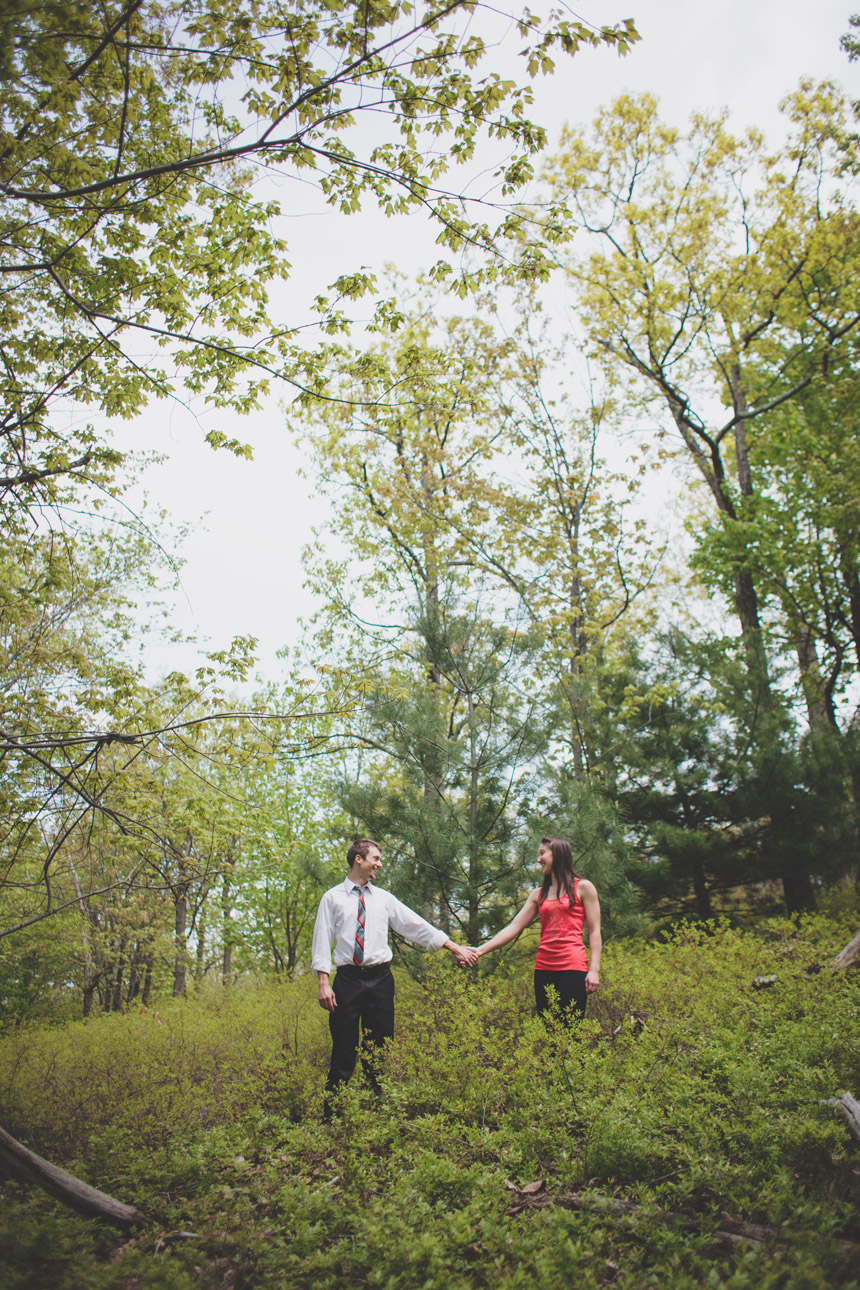 amy & chris mohonk climbing engagement photography 10