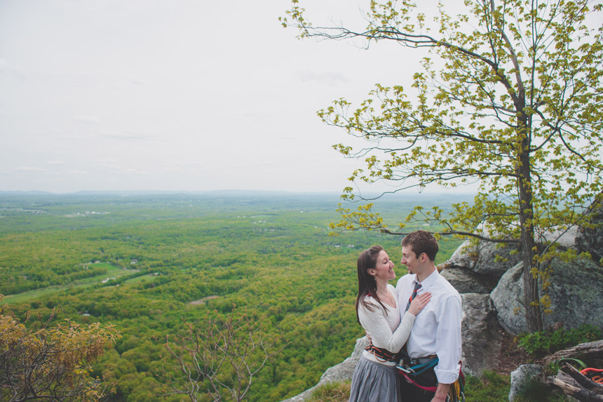 amy & chris mohonk climbing engagement photography 17