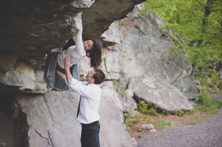 amy & chris mohonk climbing engagement photography 51