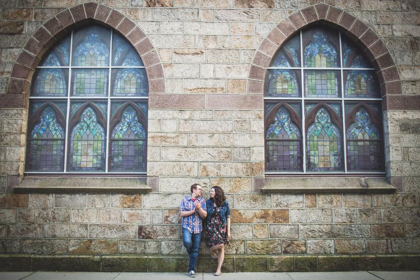 kelly & greg jim thorpe engagement photos 17