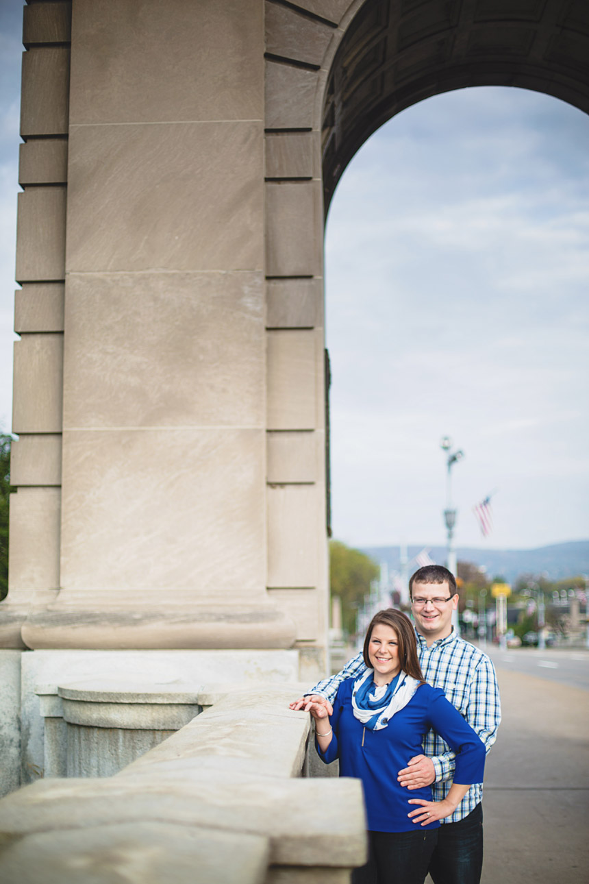 Christine & Damian Kirby Park Engagement Photos 10
