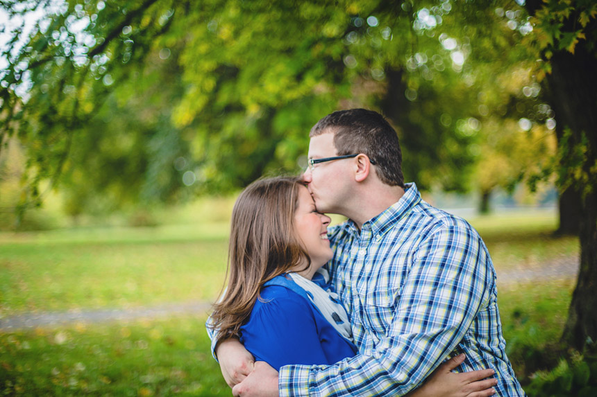 Christine & Damian Kirby Park Engagement Photos 33