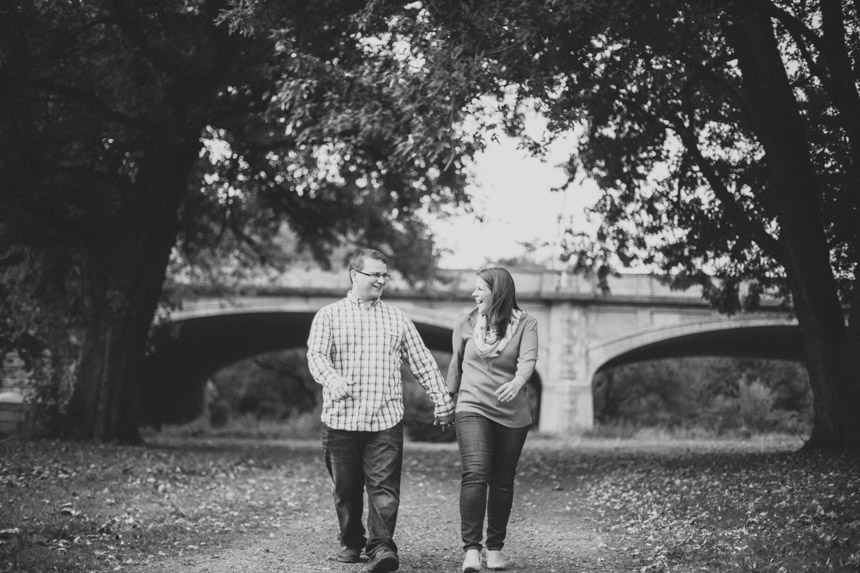 Christine & Damian Kirby Park Engagement Photos 42