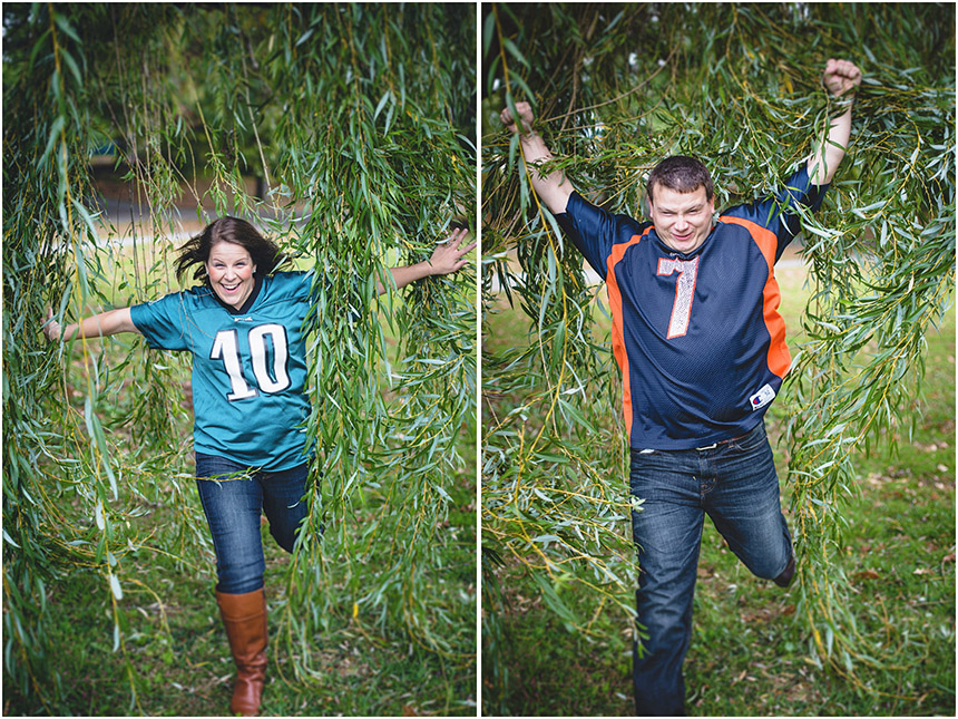 Christine & Damian Kirby Park Engagement Photos 43