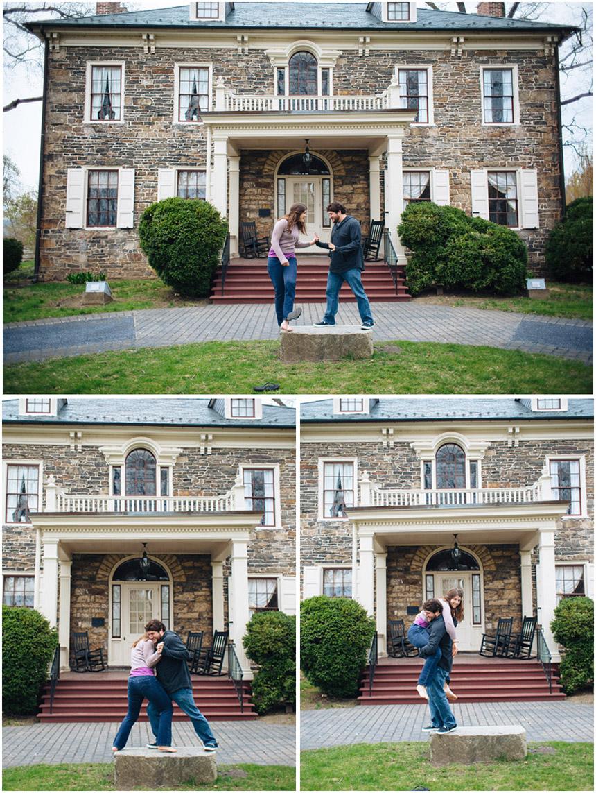 Garet & Melinda Harrisburg Engagement Photos 01