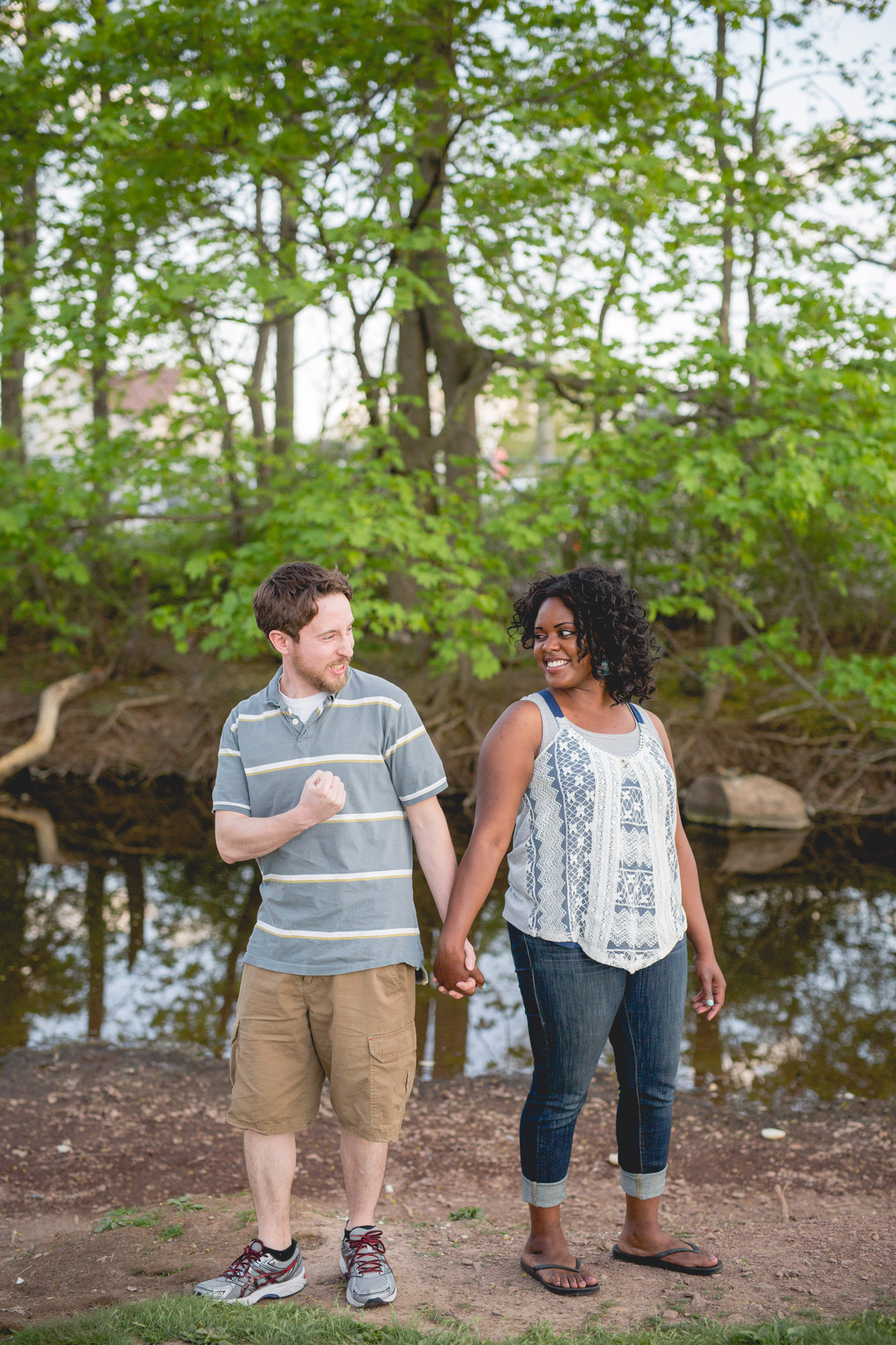Quakertown Memorial Park Engagement Photos 01