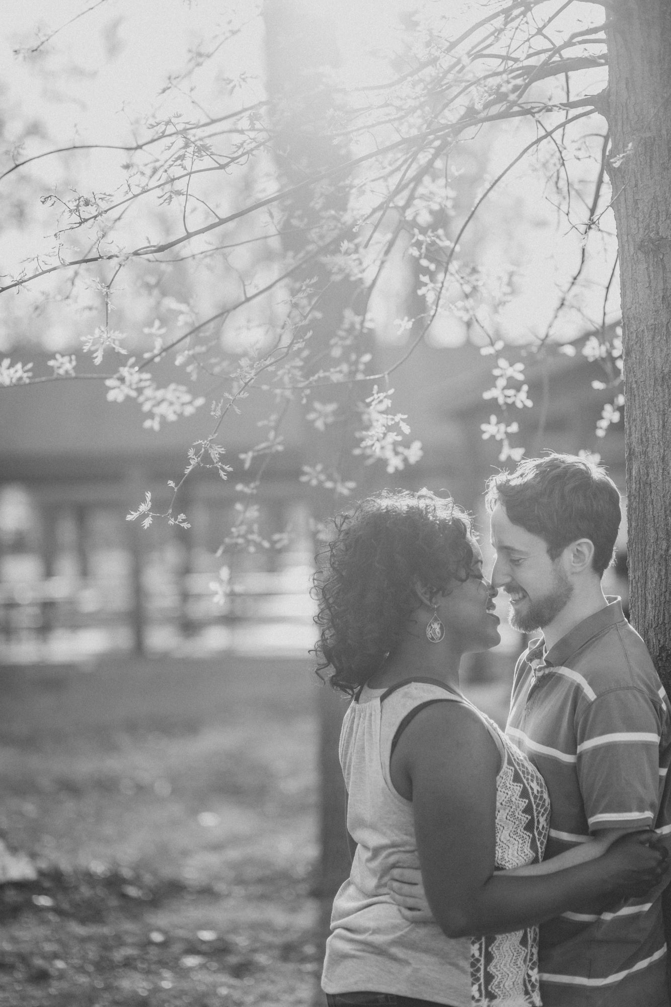 Quakertown Memorial Park Engagement Photos 04