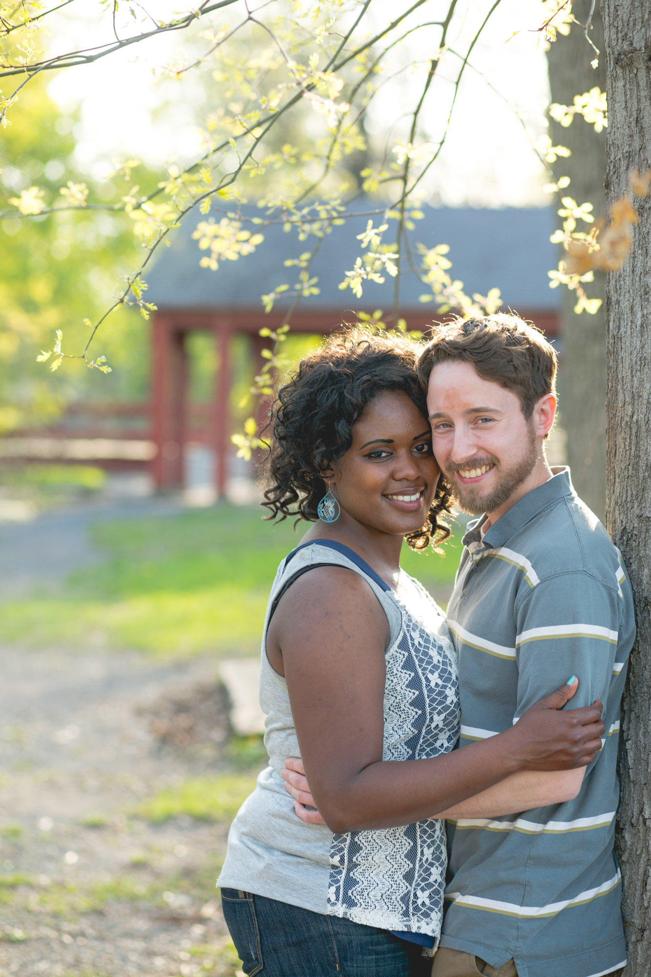 Quakertown Memorial Park Engagement Photos 05
