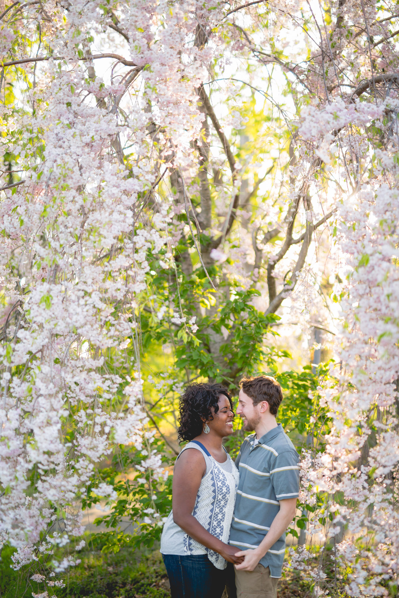 Quakertown Memorial Park Engagement Photos 11