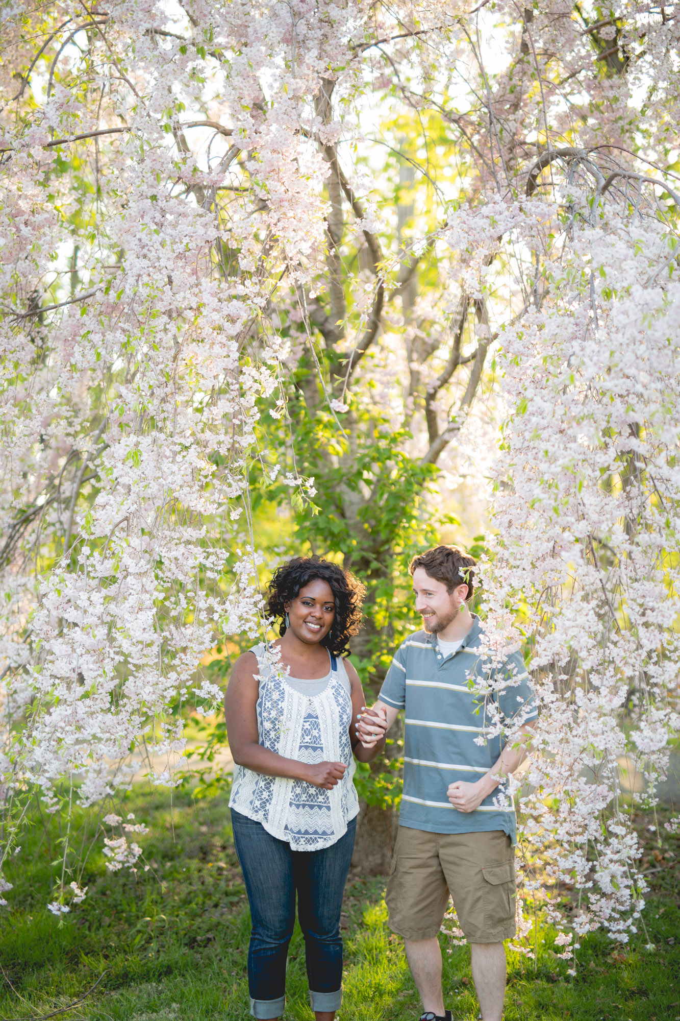 Quakertown Memorial Park Engagement Photos 15