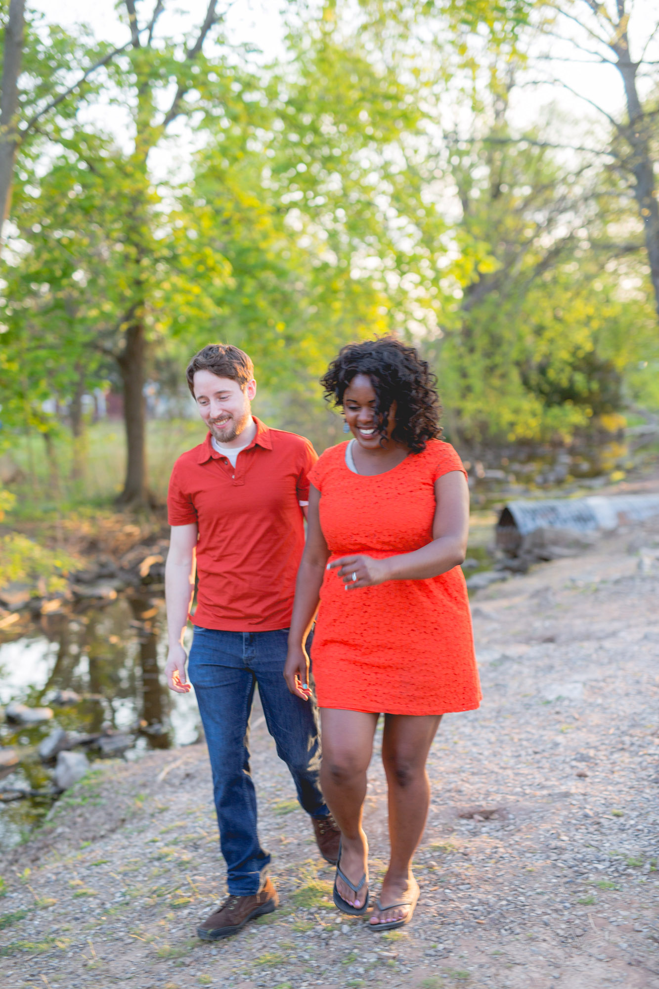 Quakertown Memorial Park Engagement Photos 21