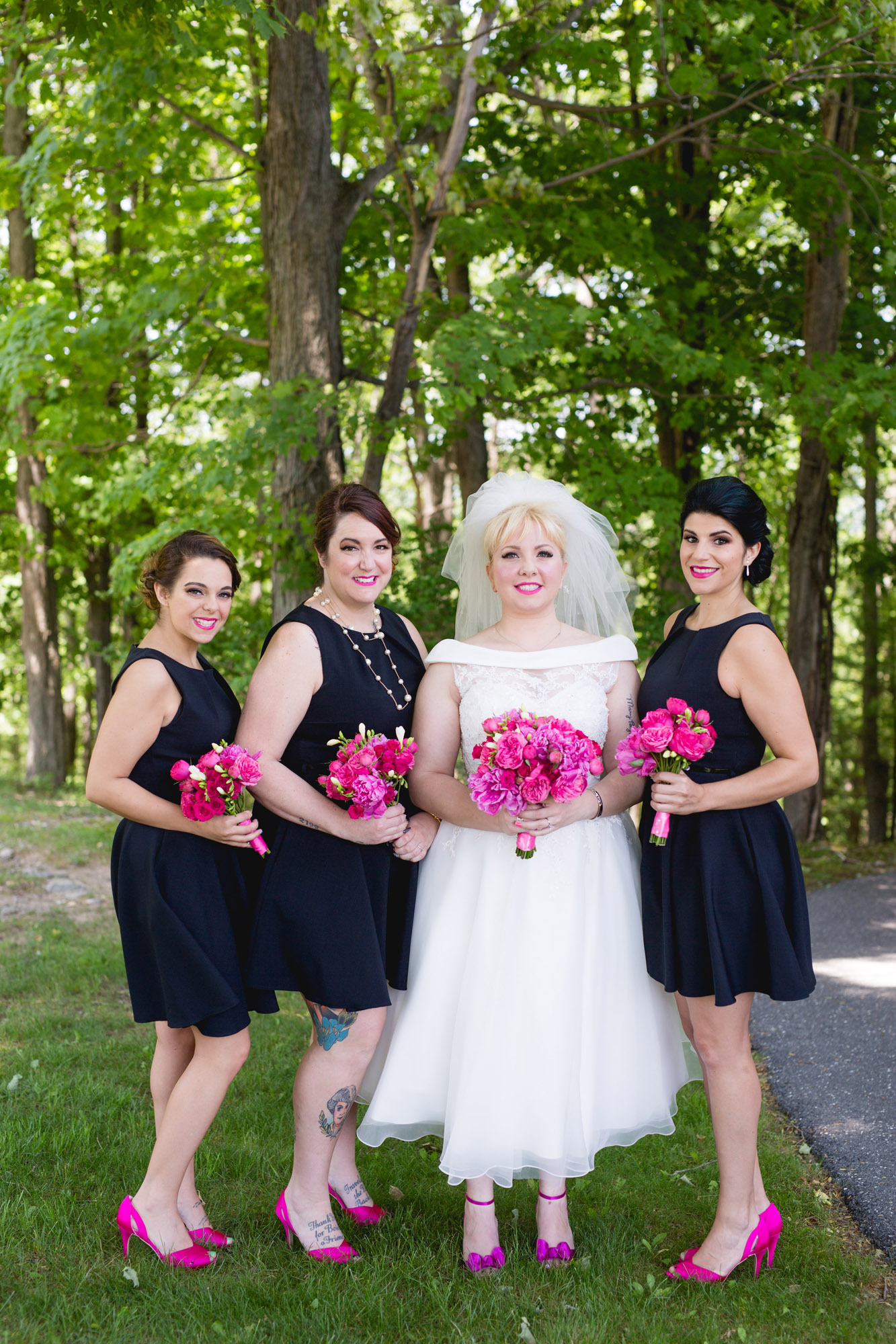 Caitlin & Joe's Stroudsmoor Woodsgate Wedding 10