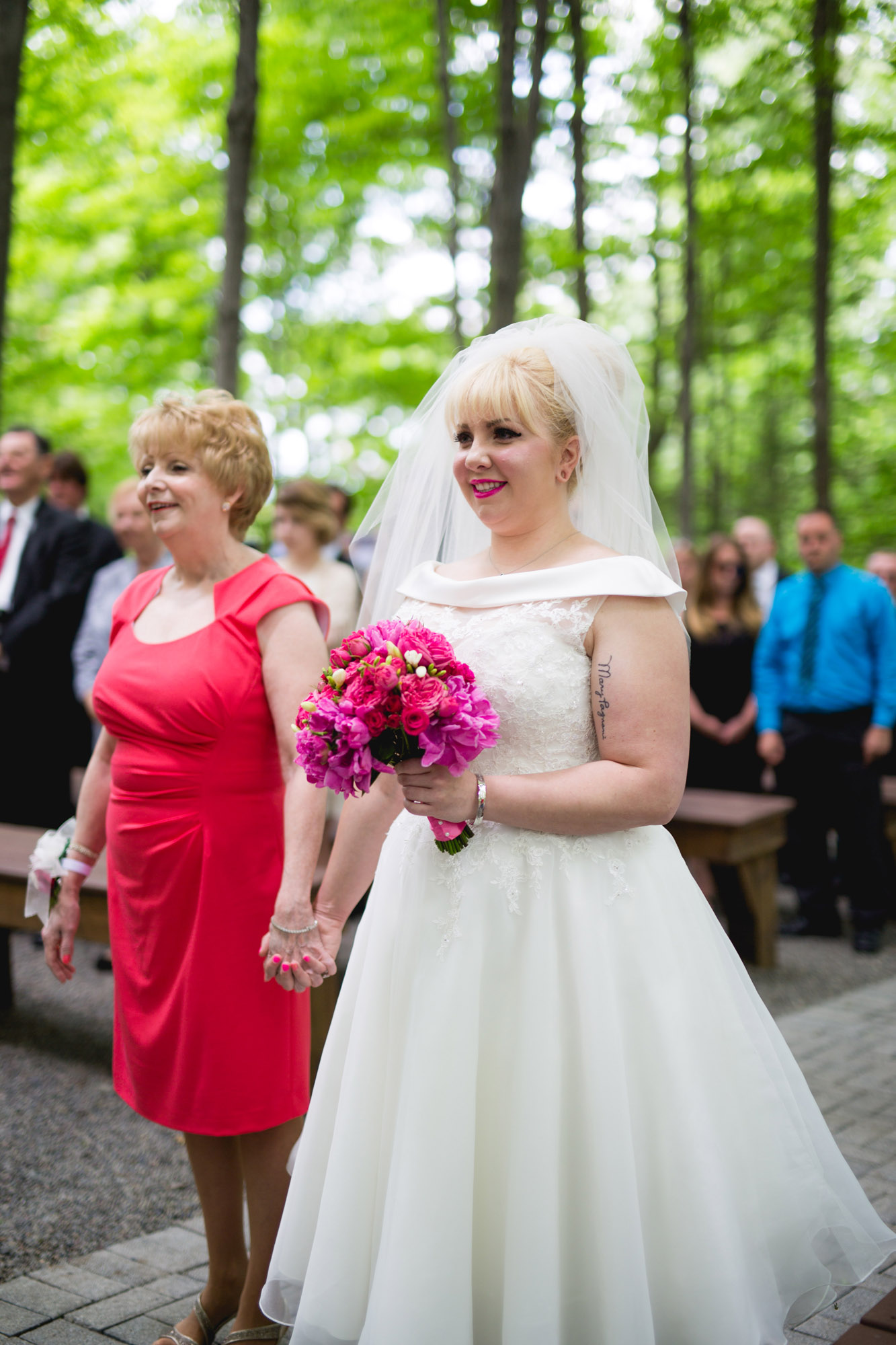 Caitlin & Joe's Stroudsmoor Woodsgate Wedding 42