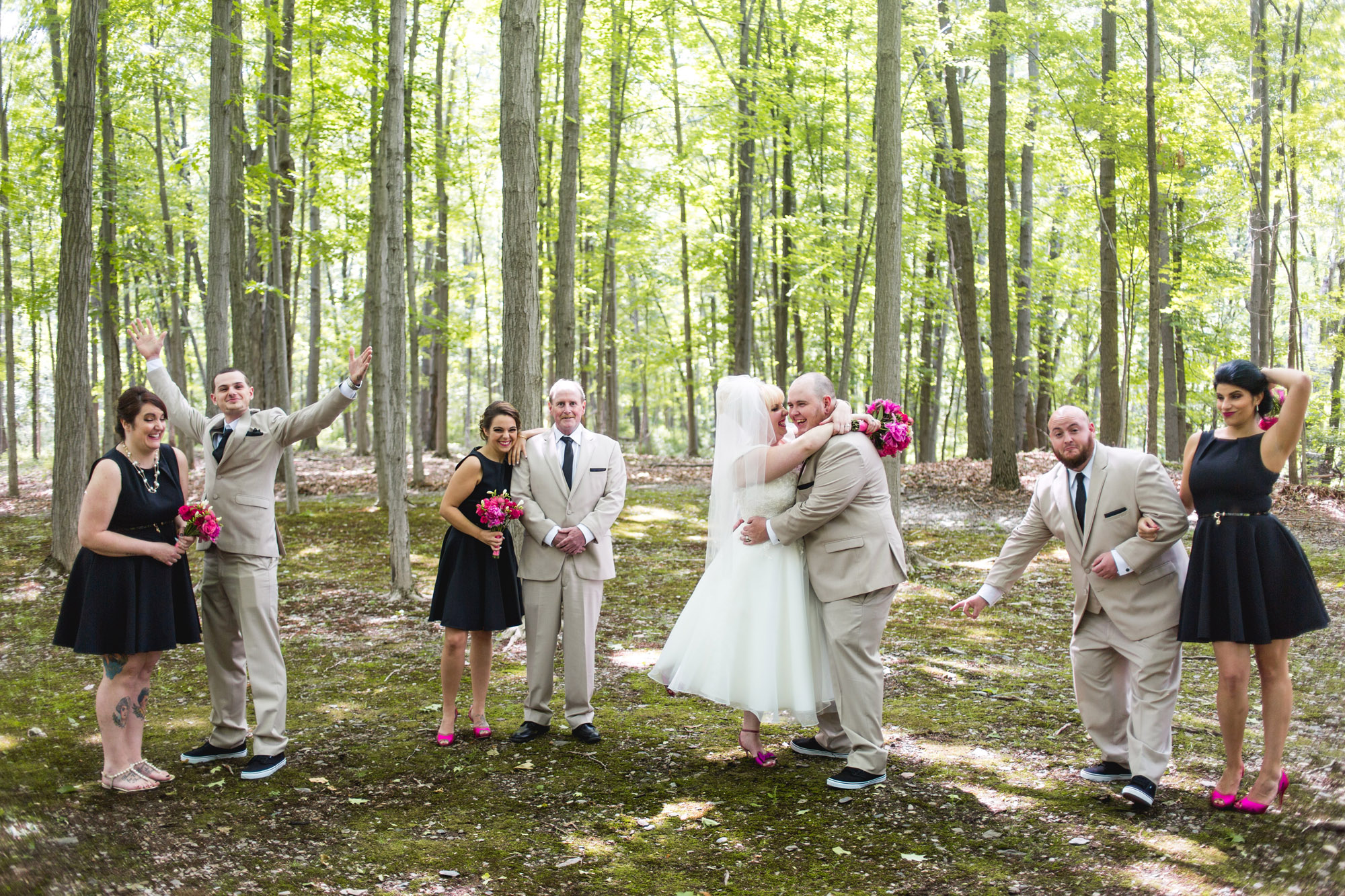 Caitlin & Joe's Stroudsmoor Woodsgate Wedding 62