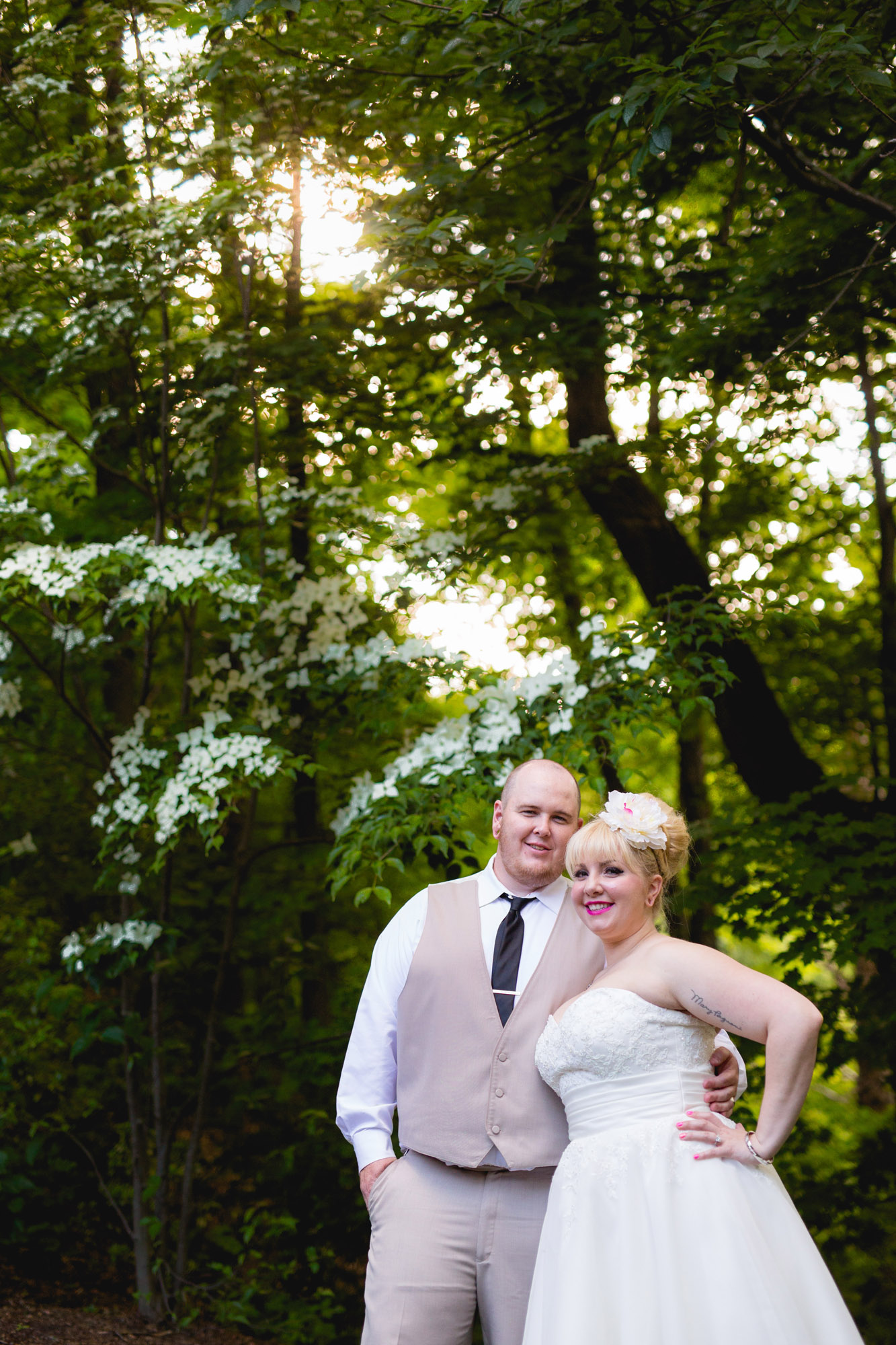 Caitlin & Joe's Stroudsmoor Woodsgate Wedding 73