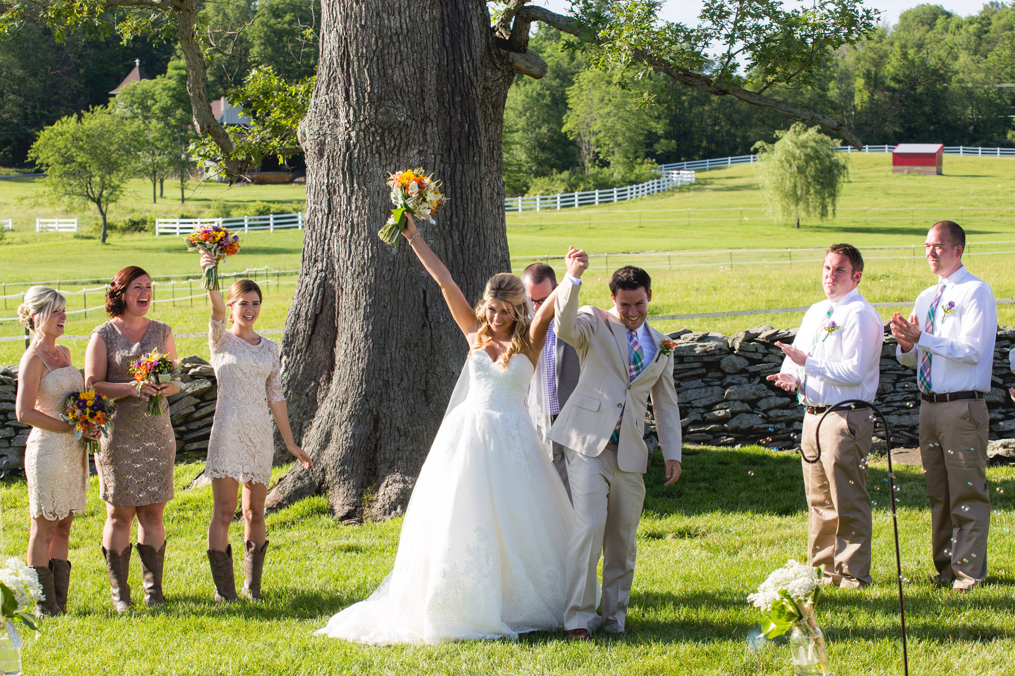 Emily & Craig Friedman Farms Wedding 072