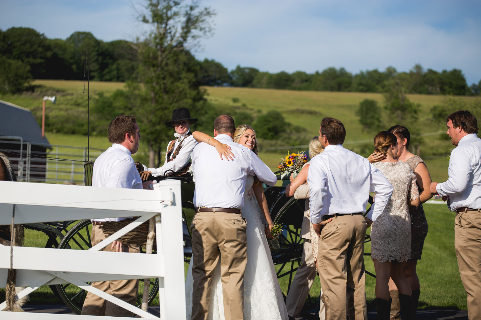Emily & Craig Friedman Farms Wedding 075