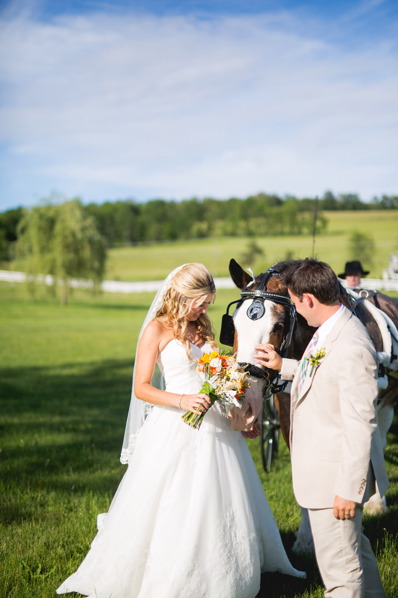 Emily & Craig Friedman Farms Wedding 081