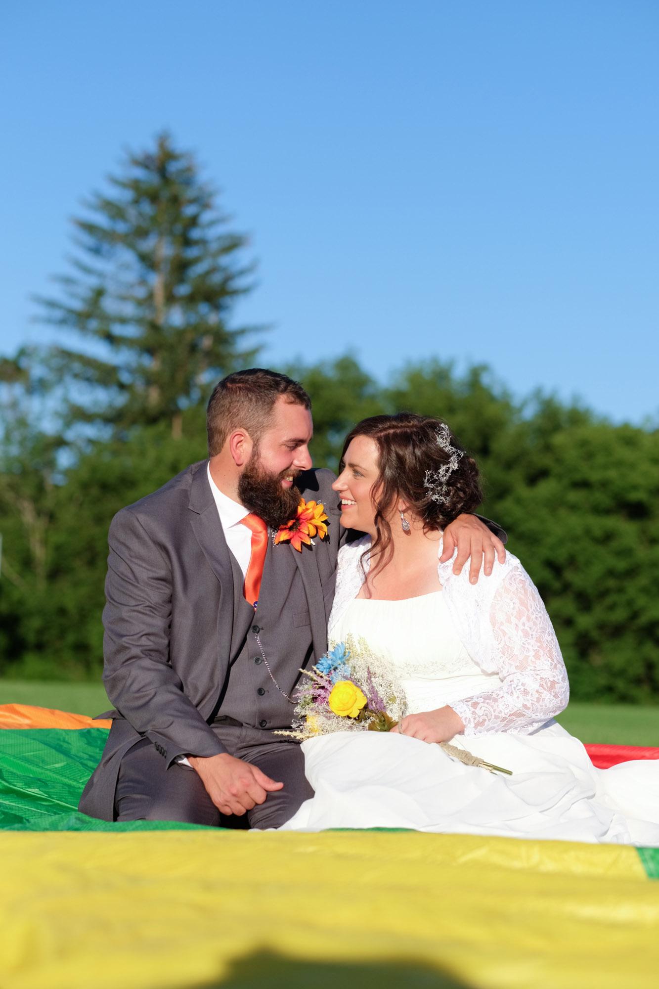 Shawn & Danielle Hot Air Balloon Wedding 24
