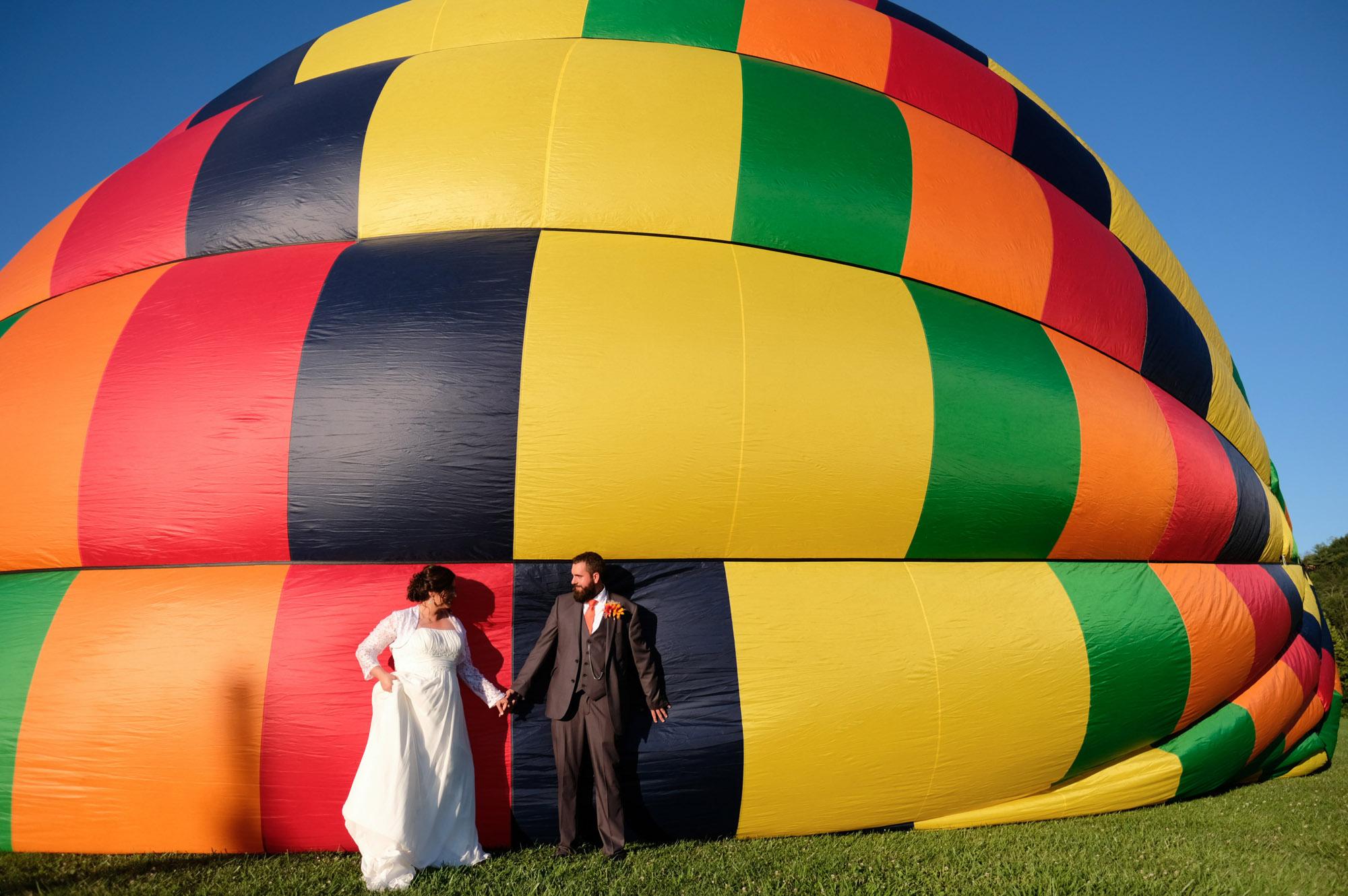 Shawn & Danielle Hot Air Balloon Wedding 27