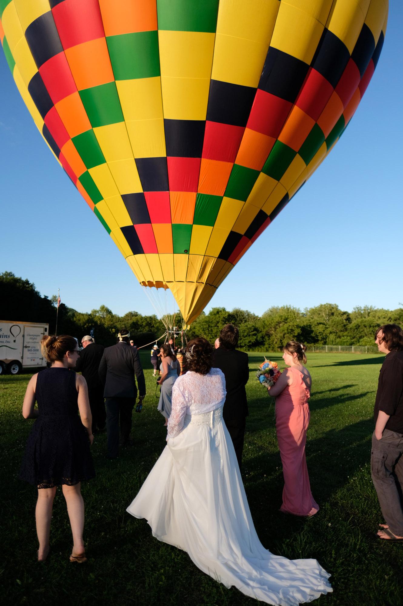 Shawn & Danielle Hot Air Balloon Wedding 30