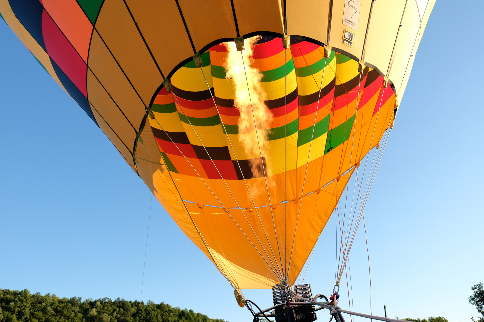 Shawn & Danielle Hot Air Balloon Wedding 31