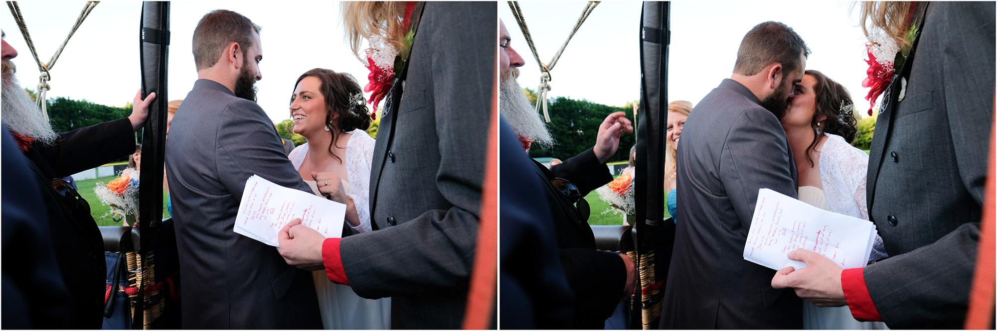 Shawn & Danielle Hot Air Balloon Wedding 33