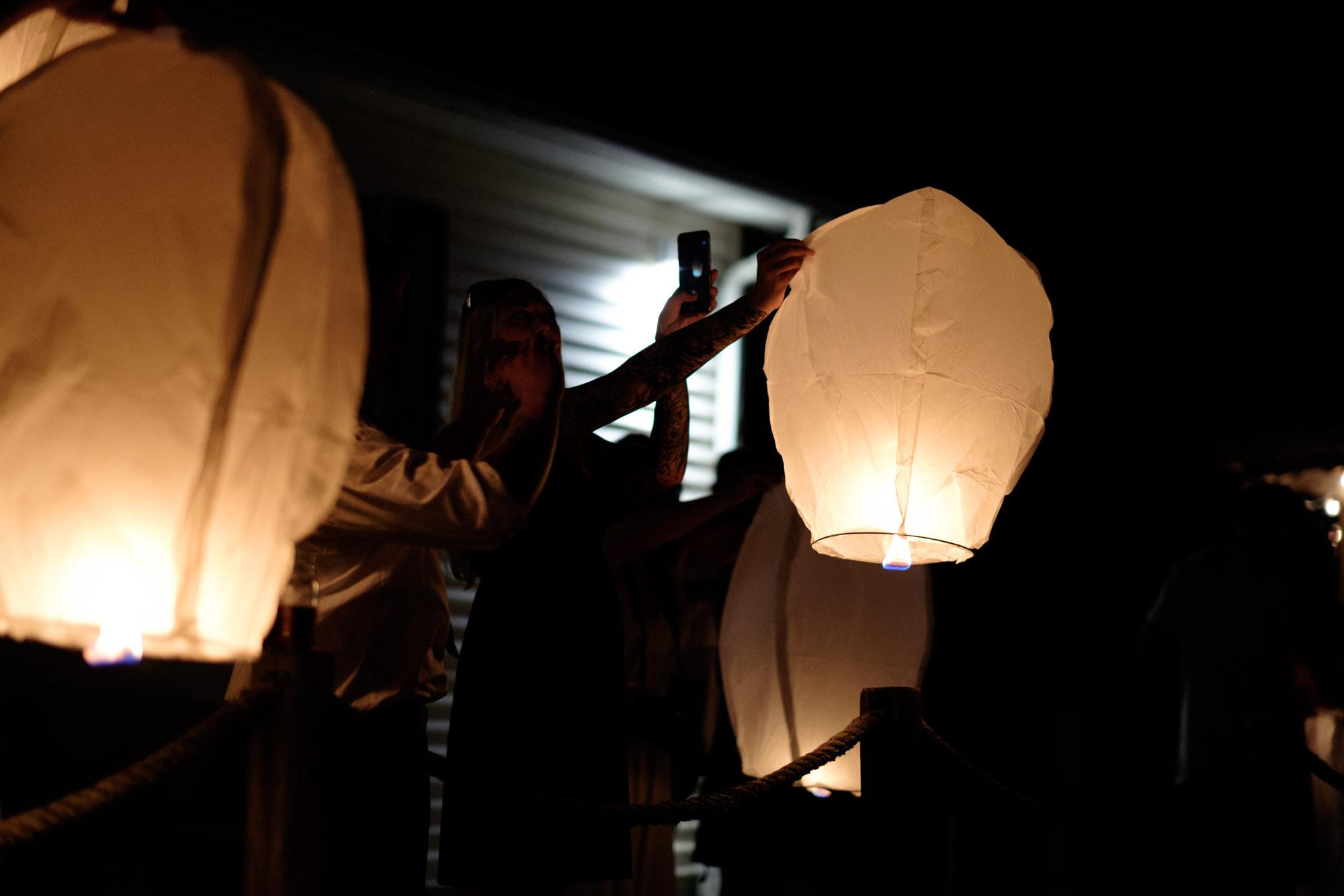 Shawn & Danielle Hot Air Balloon Wedding 74