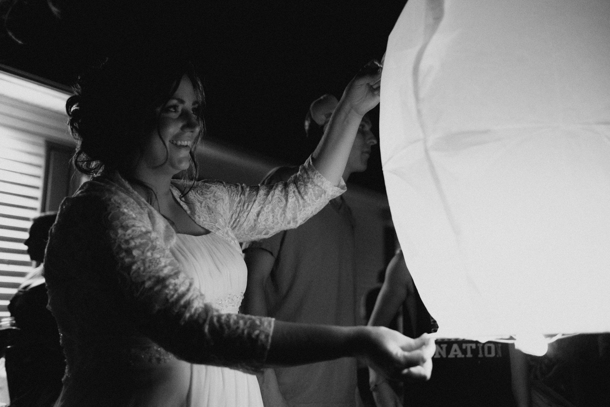 Shawn & Danielle Hot Air Balloon Wedding 79